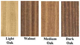 various wood dyes